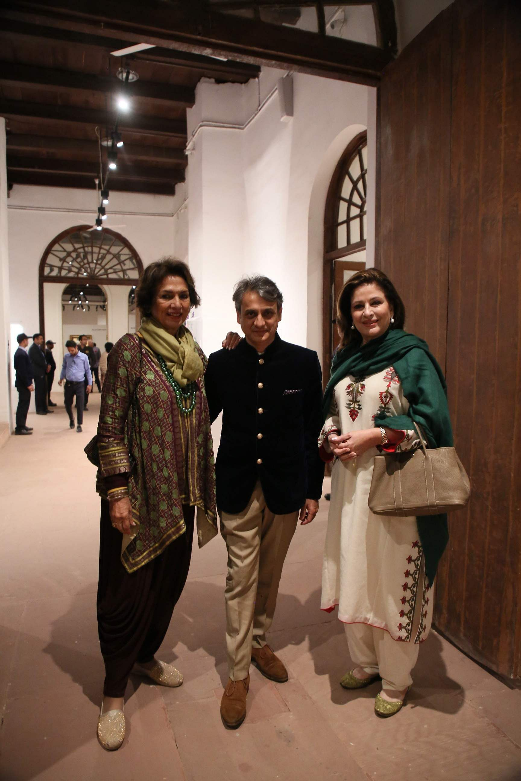 DAG patrons Bina Ramani and Dilshad Sheikh with CEO and MD of DAG Ashish Anand