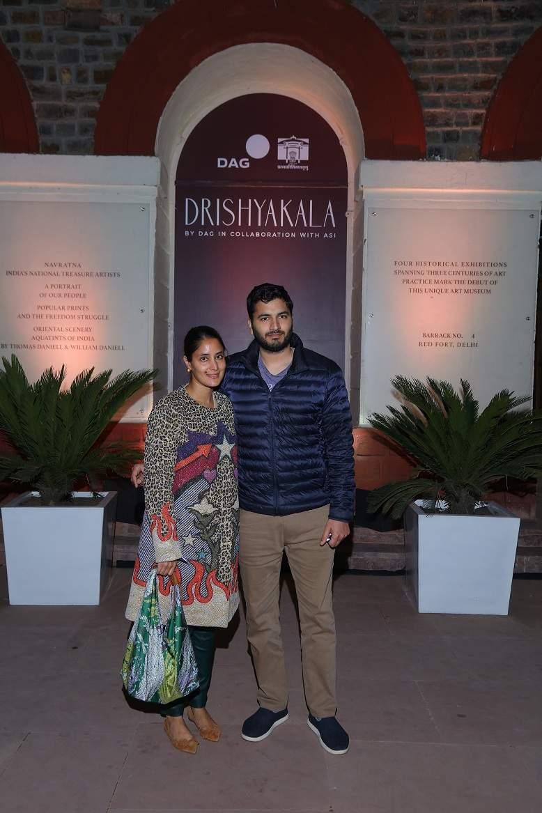 Socialites Anuskha and Arjun Bhartia