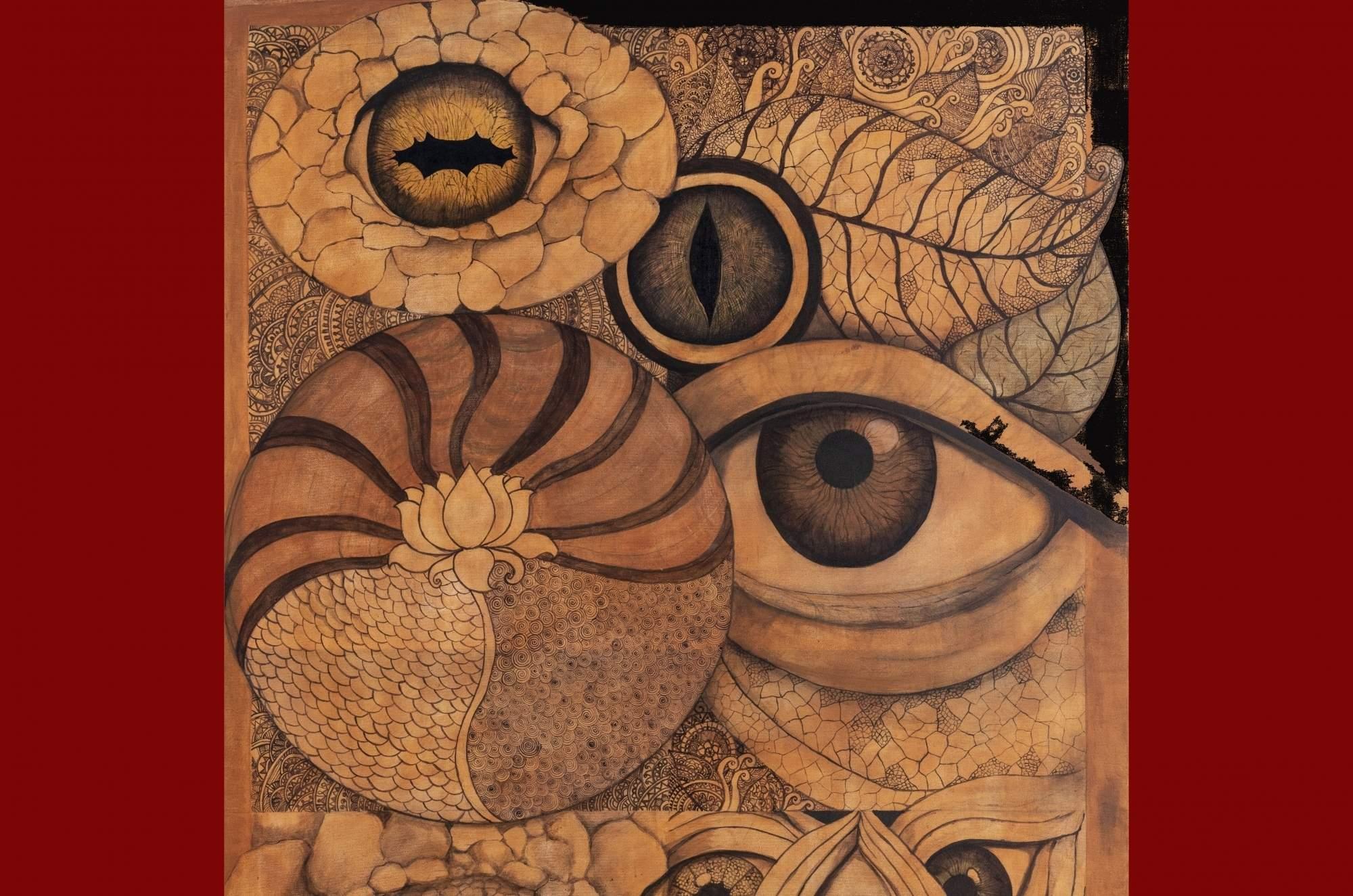 A painting by Anuja Choksi Khanna