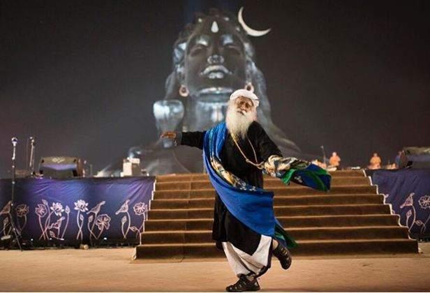 Sadhguru Jaggi Vasudev celebrating Maha Shivratri