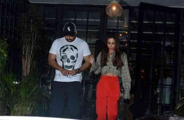 Actors Malaika Arora and Arjun Kapoor