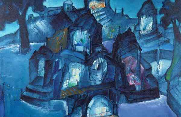 Banaras, The City of Lights; photo courtesy of the artist, Art & Soul gallery and NGMA, Mumbai