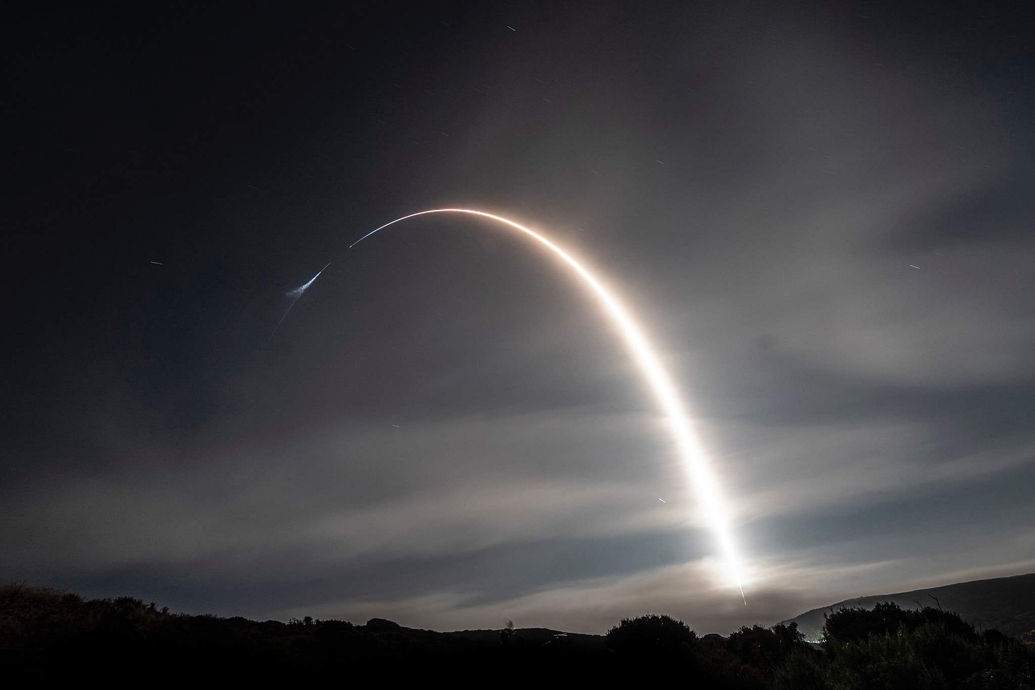 Pictures from Crew Dragon's first launch to the International Space Station. Courtesy: SpaceX