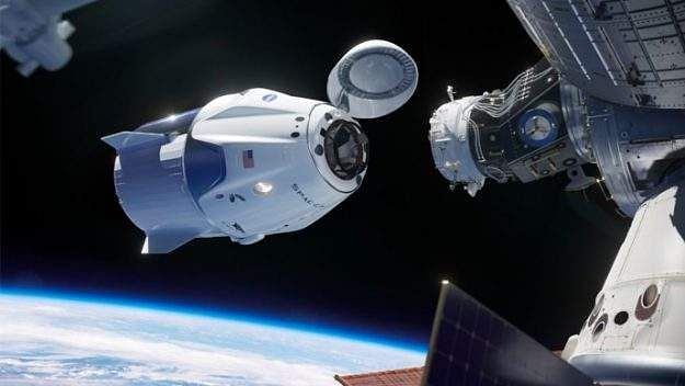 Crew Dragon prepares for its launch to the International Space Station. Courtesy: SpaceX