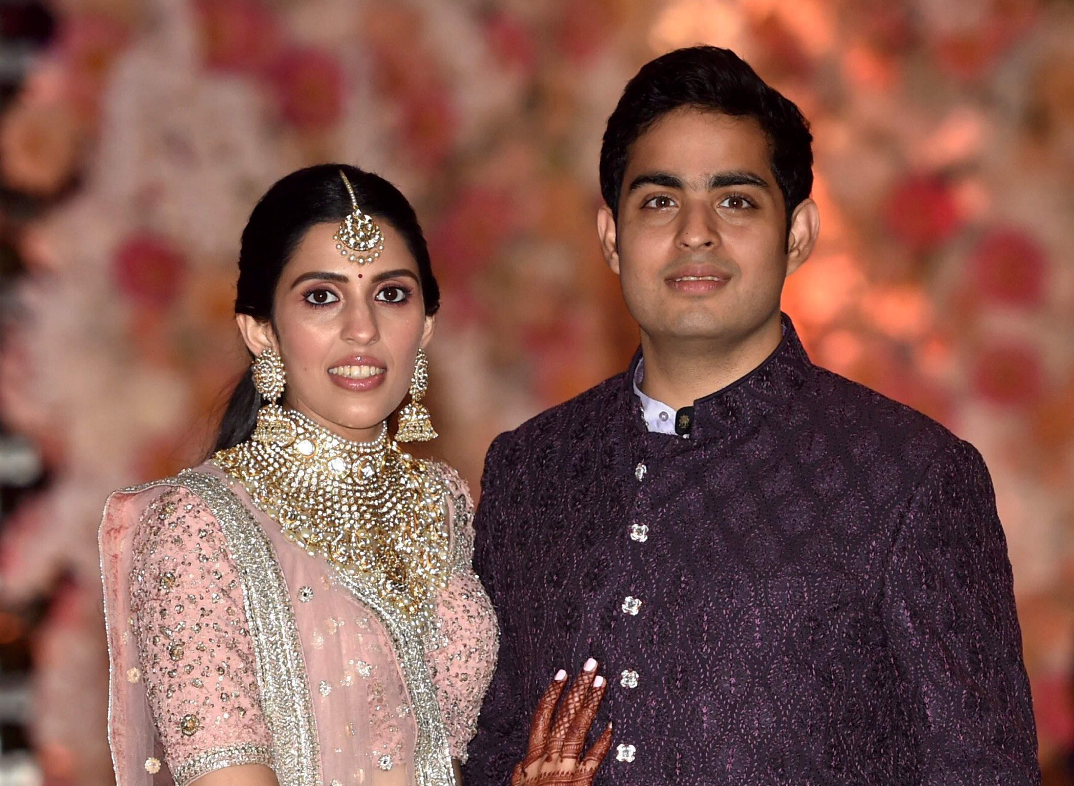 Akash Ambani & Shloka Mehta