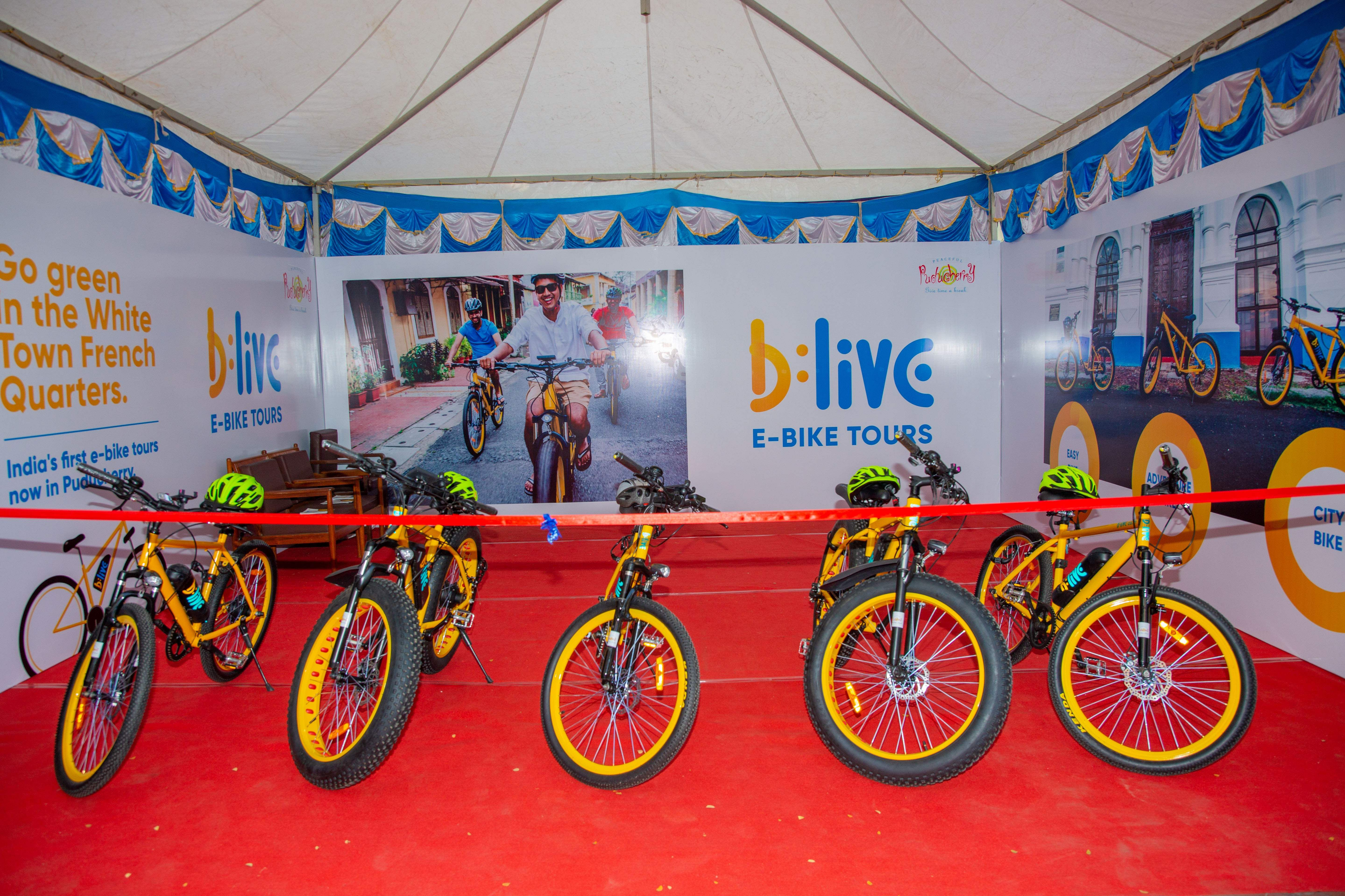 B: Live launches in Puducherry