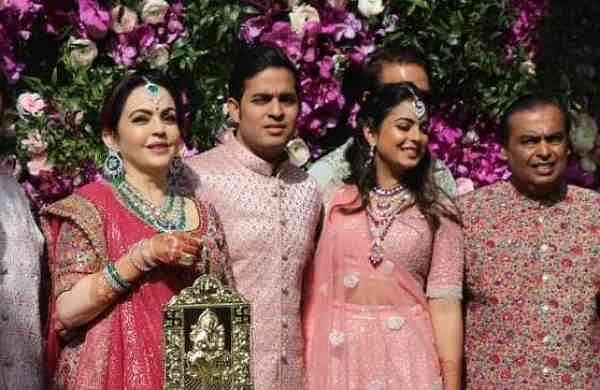 The Ambani family