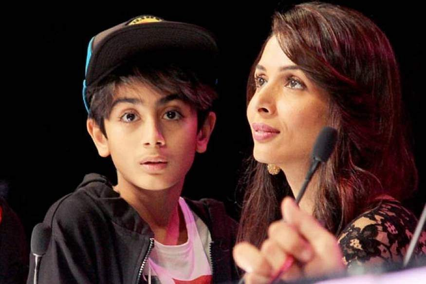 Malaika Arora with son Arhaan