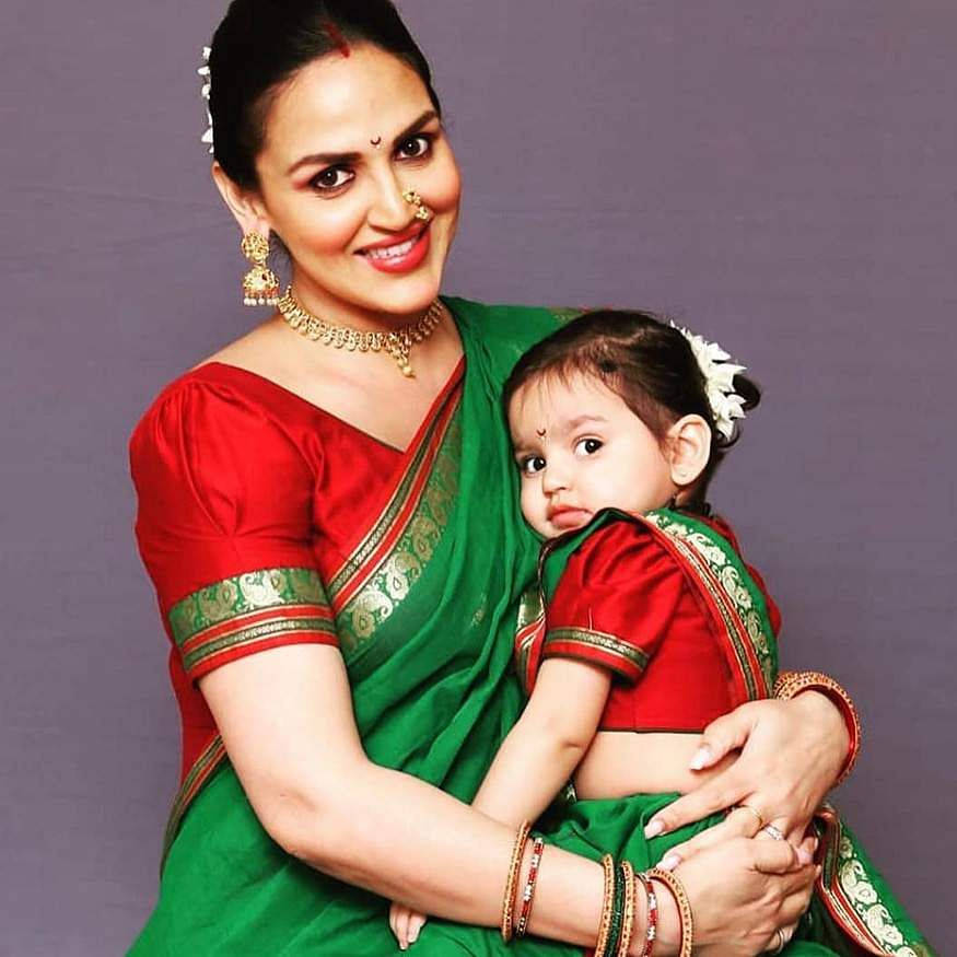 Esha Deol joined her daughter Radhya Takhtani