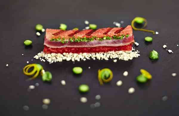 ITC Grand Chola's Grilled watermelon