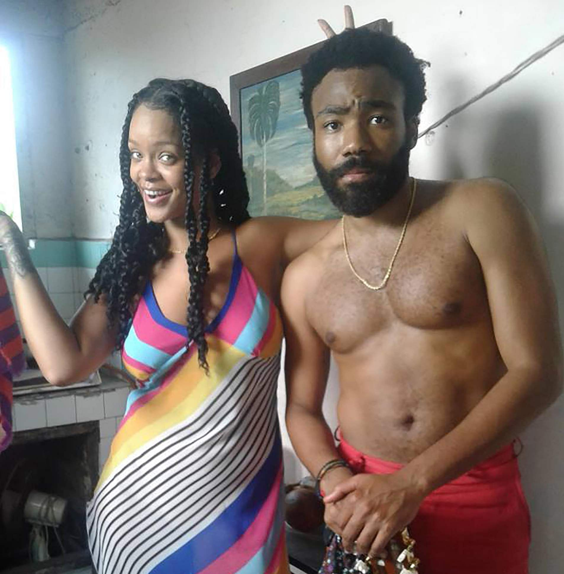 Rihana and Childish Gambino