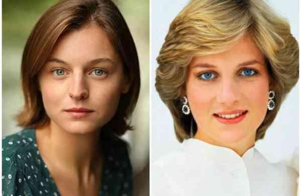 Emma Corrin & Princess Diana