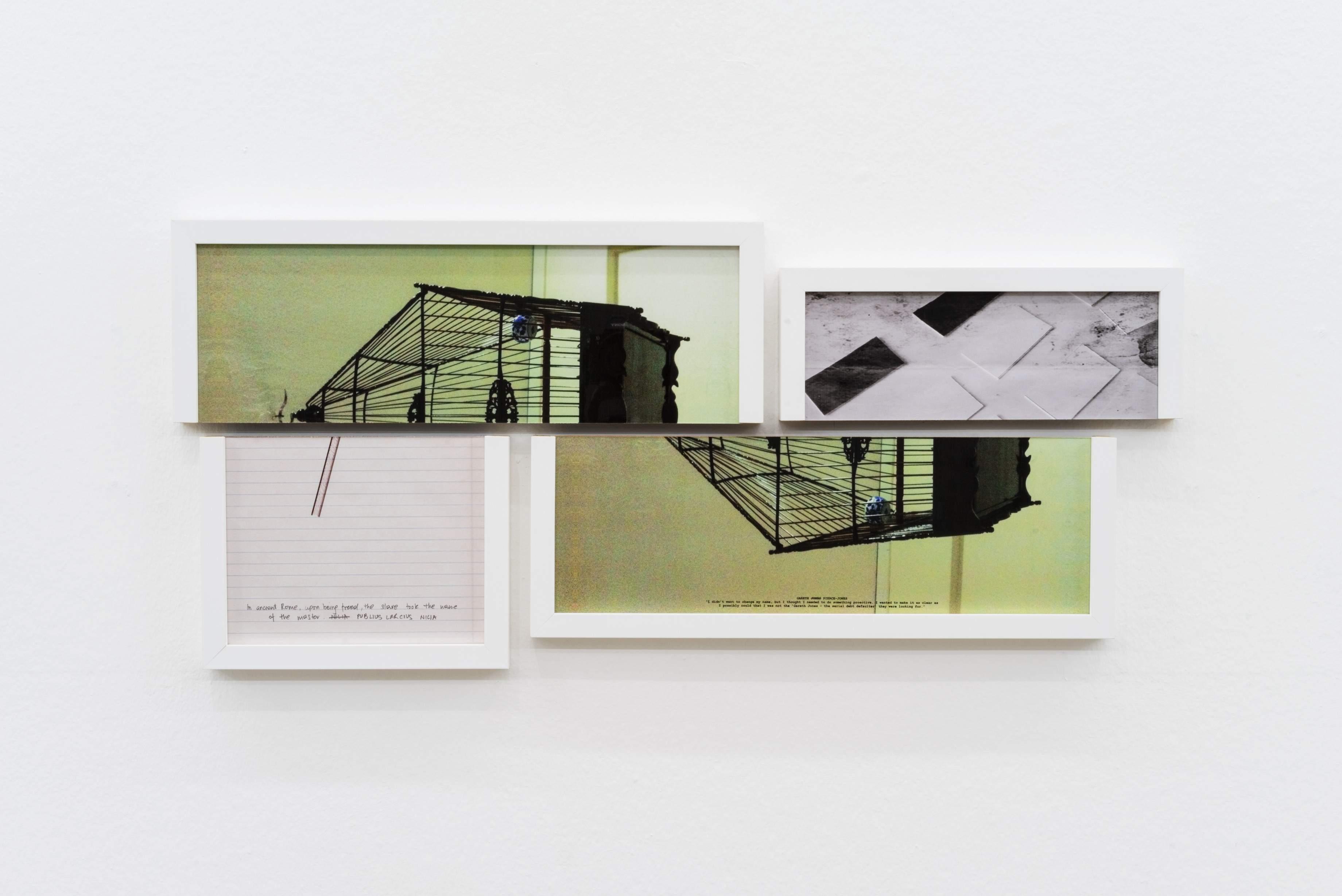 Shilpa Gupta's Altered Inheritance (detail) at the Ishara Art Foundation, Dubai.