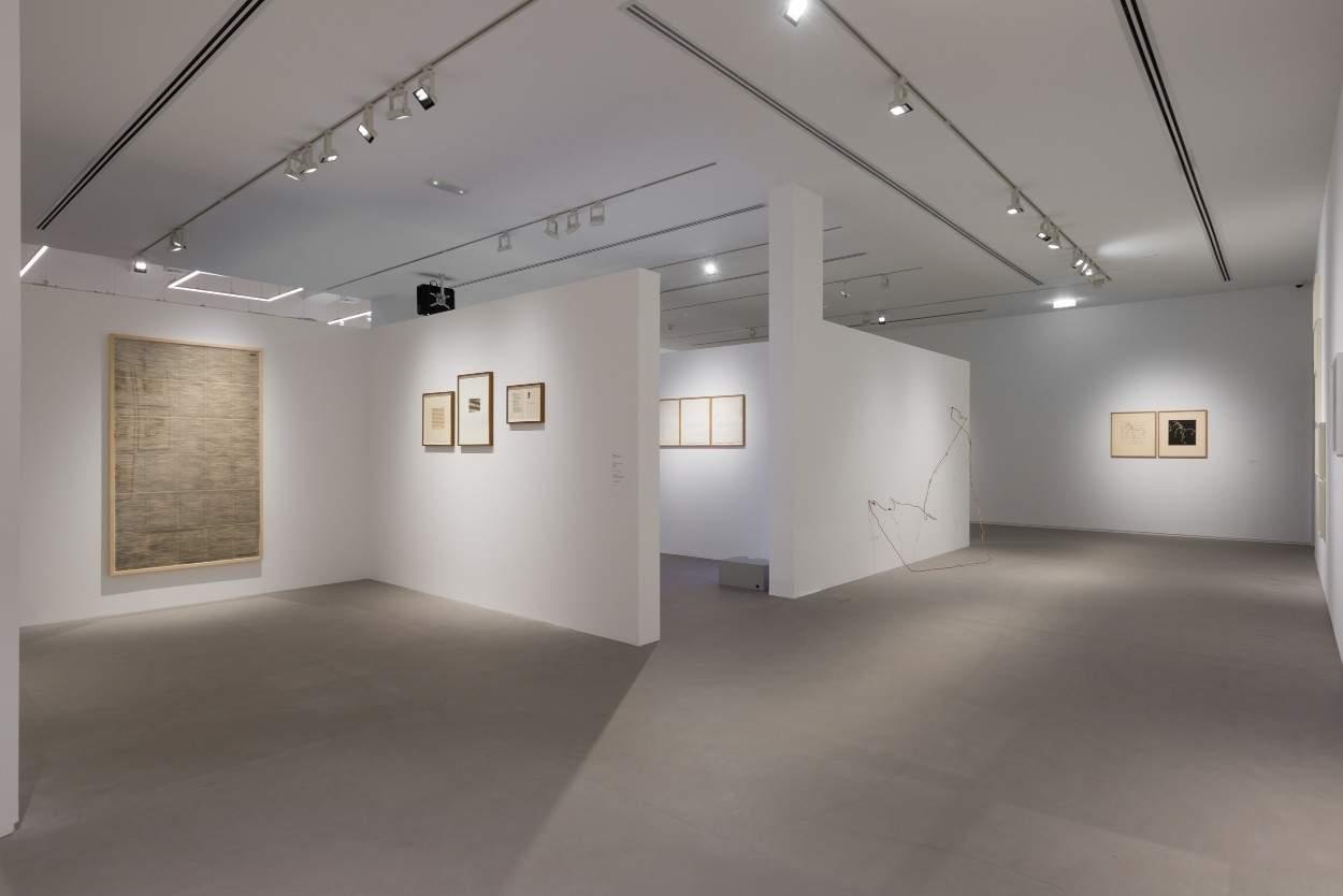Installation view at the Ishara Art Foundation, Dubai.