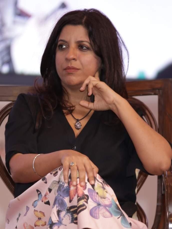Filmmaker Zoya Akhtar at the 35th Annual Session of FICCI Ladies Organisation (FLO) in New Delhi, on April 13, 2019. (Photo: Amlan Paliwal/IANS)