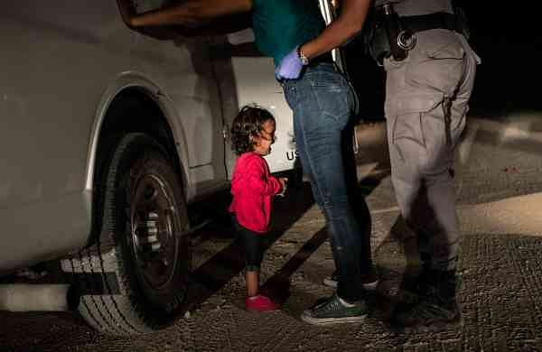 Crying Girl on the Border, photo by John Moore/Getty Images/World Press Photo of the Year