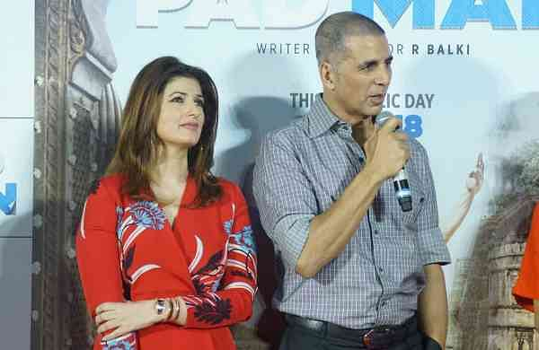 Akshay Kumar and Twinkle Khanna (Photo: IANS)