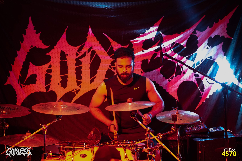 Godless drumer Aniketh Yadav