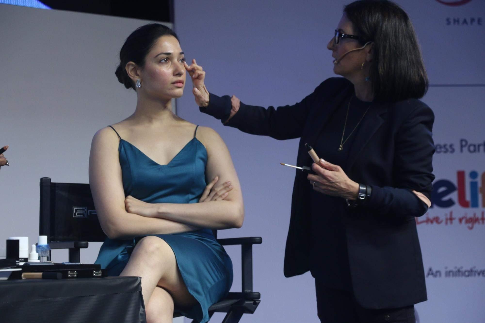 In pictures: Actress Tamannaah at American make-up artist Bobbi