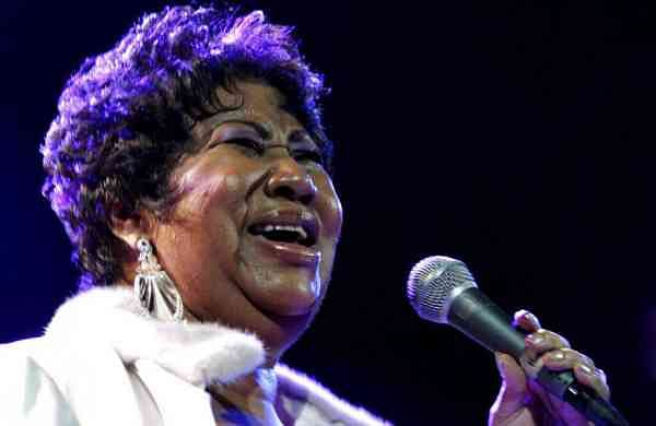 Aretha Franklin (AP Photo/Shea Walsh)