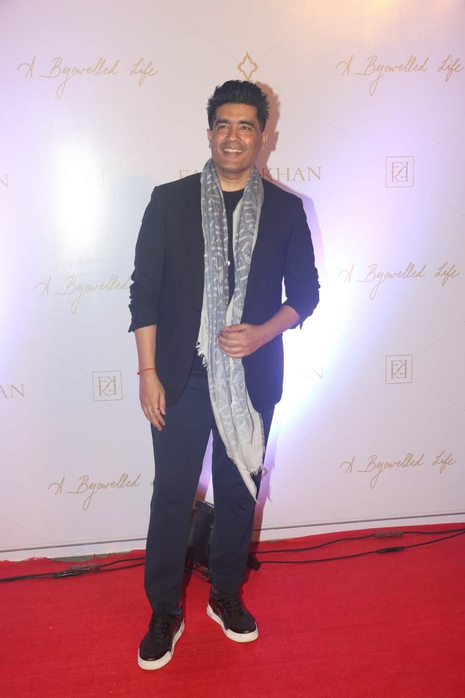 Mumbai: Fashion designer Manish Malhotra at the launch of Jewellery designer Farah Khan Ali's book, in Mumbai, on April 16, 2019. (Photo: IANS)