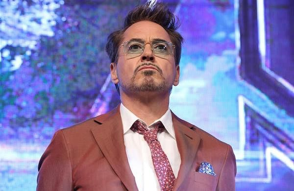 Seoul: Hollywood star Robert Downey, Jr. poses for a photo in Seoul to promote Avengers: Endgame. (Yonhap/IANS)