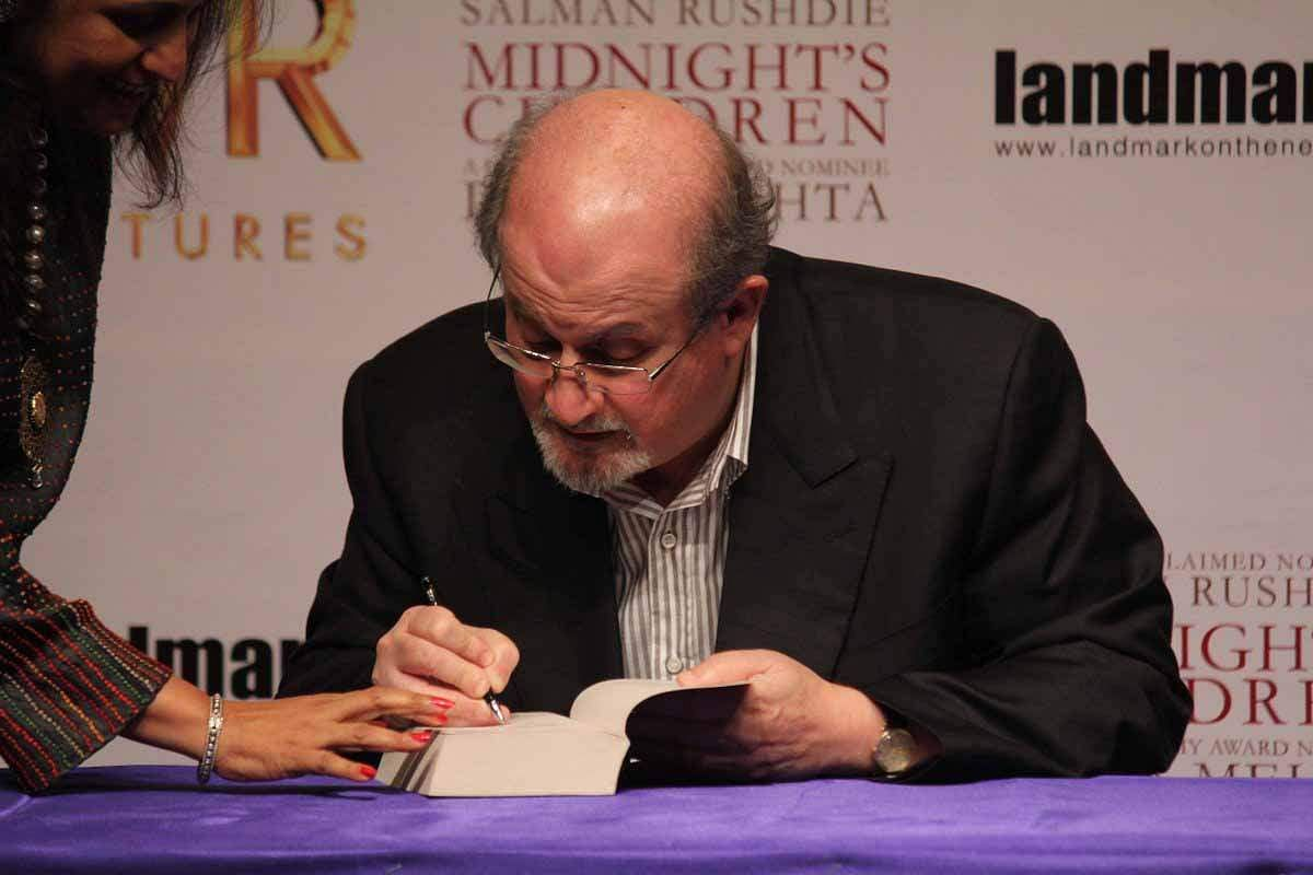 Salman Rushdie (Photo: IANS)