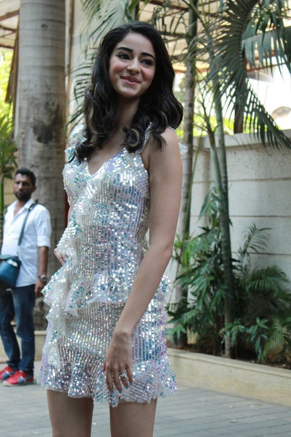 Mumbai: Actress Ananya Pandey at the song launch of her upcoming film 'Student of the Year 2', in Mumbai, on April 18, 2019. (Photo: IANS)