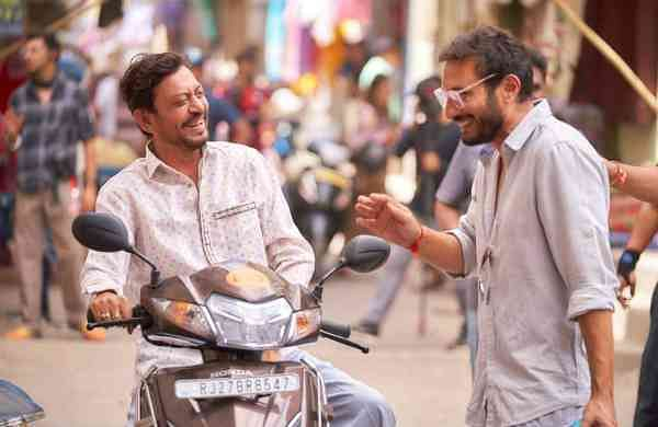 Irrfan Khan and Homi Adjania