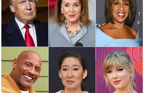 """Time's """"100 Most Influential People in the World"""" issue. (AP Photo)"""