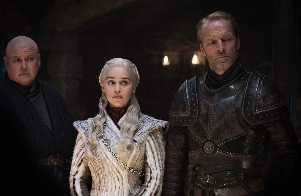Conleth Hill, Emilia Clarke & Iain Glen. Game of Thrones, HBO & related service marks are property of Home Box office, Inc. All rights reserved. GoT Season 8 airs on Star World every Tuesday, 10 pm.