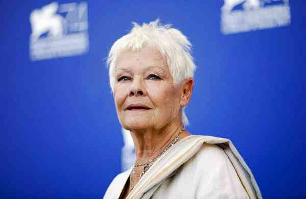 File photo: Actress Judi Dench (AP Photo/Domenico Stinellis)
