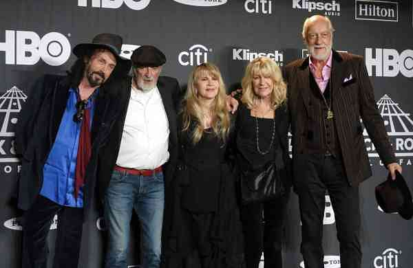 File photo: Fleetwood Mac (Photo by Charles Sykes/Invision/AP)