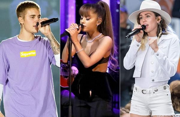 Justin Bieber, Ariana Grande, Miley Cyrus join hands for new music video