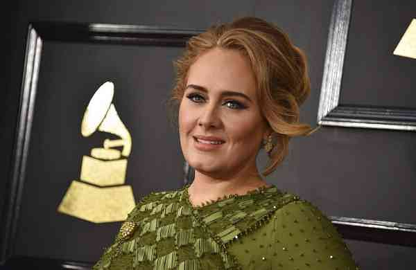 File photo: Adele (Photo by Jordan Strauss/Invision/AP)