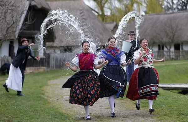 Traditional Easter in Hungary