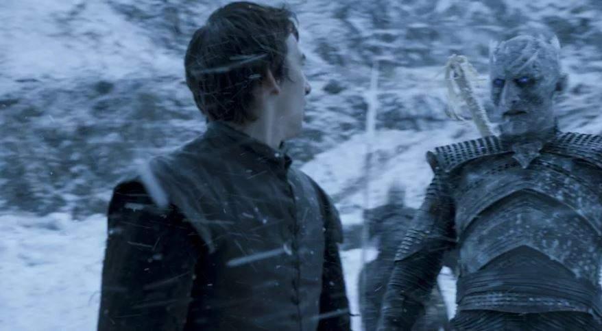 Bran with Night King