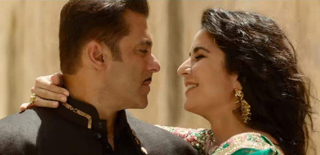 Salman Khan and Katrina Kaif in a still