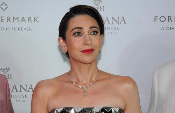 Amritsar: Actress Karisma Kapoor during a promotional programme for a jewellery brand, in Amritsar, on April 21, 2019. (Photo: IANS)