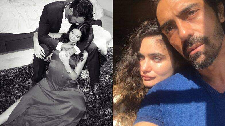 'Blessed to have you and start all over again': Arjun Rampal is expecting child with girlfriend Gabr