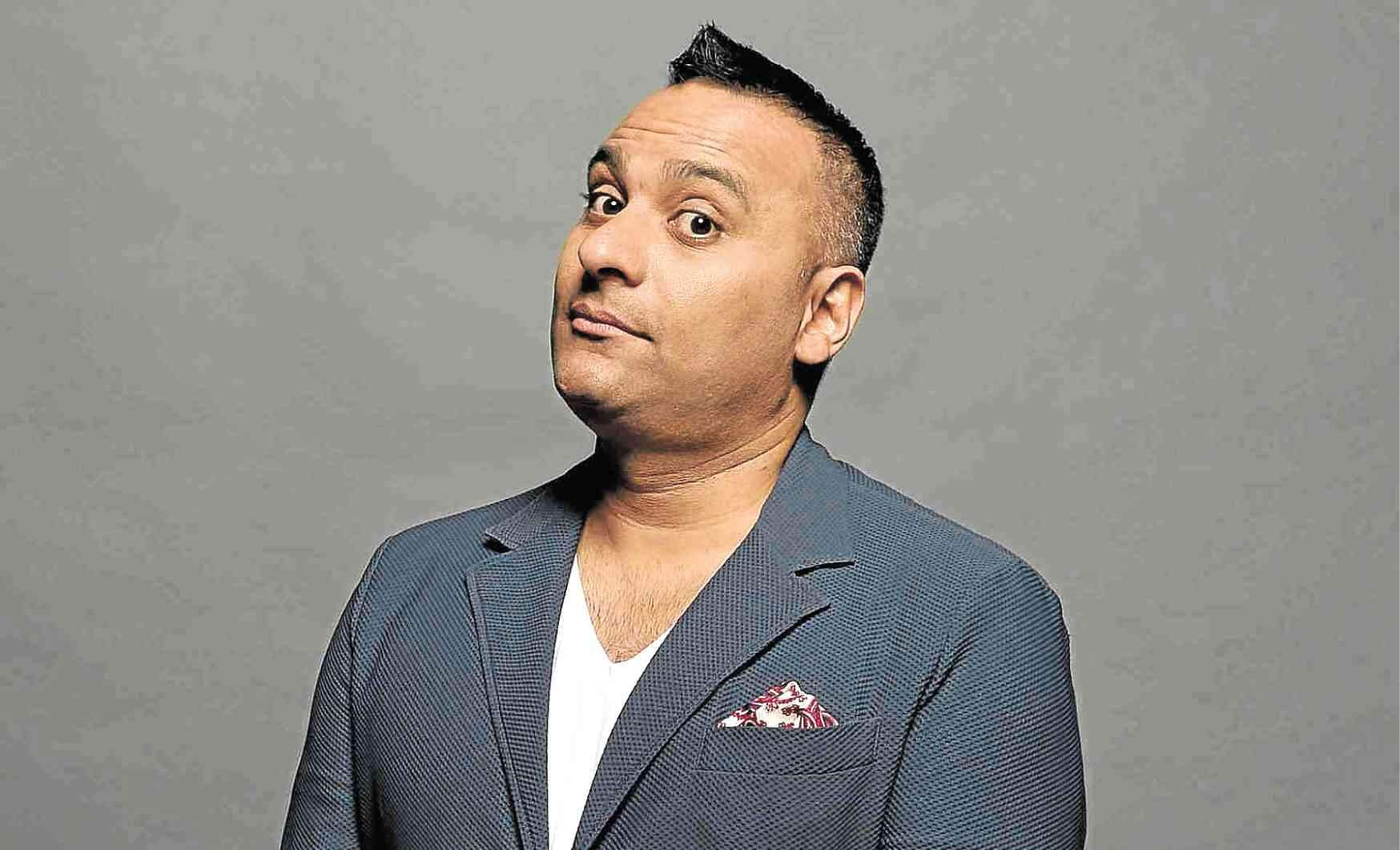 Russell Peters comedian to India