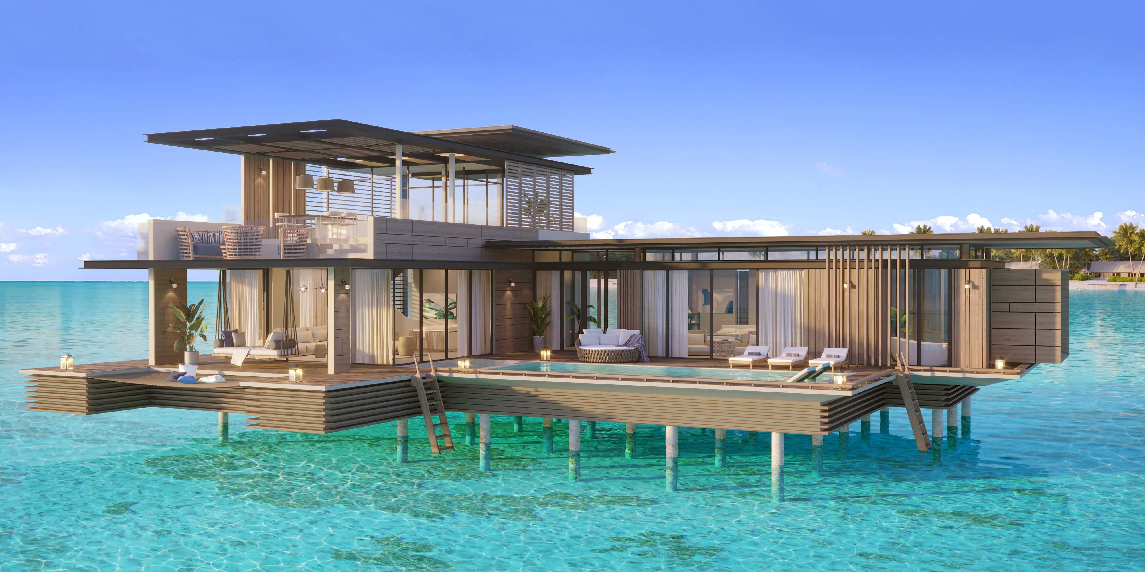 Waldorf Astoria Maldives Ithaafushi - Stella Maris Ocean Villa