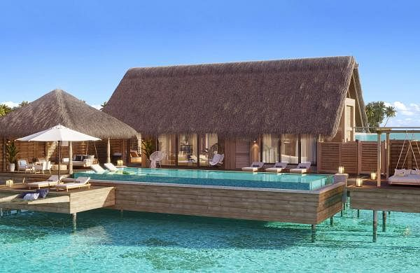 Waldorf Astoria Maldives Ithaafushi - Bedroom Over-water Villa Exterior