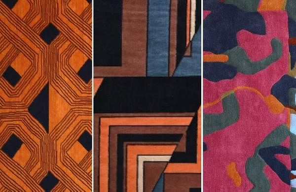 Bent Chair's new rug collection