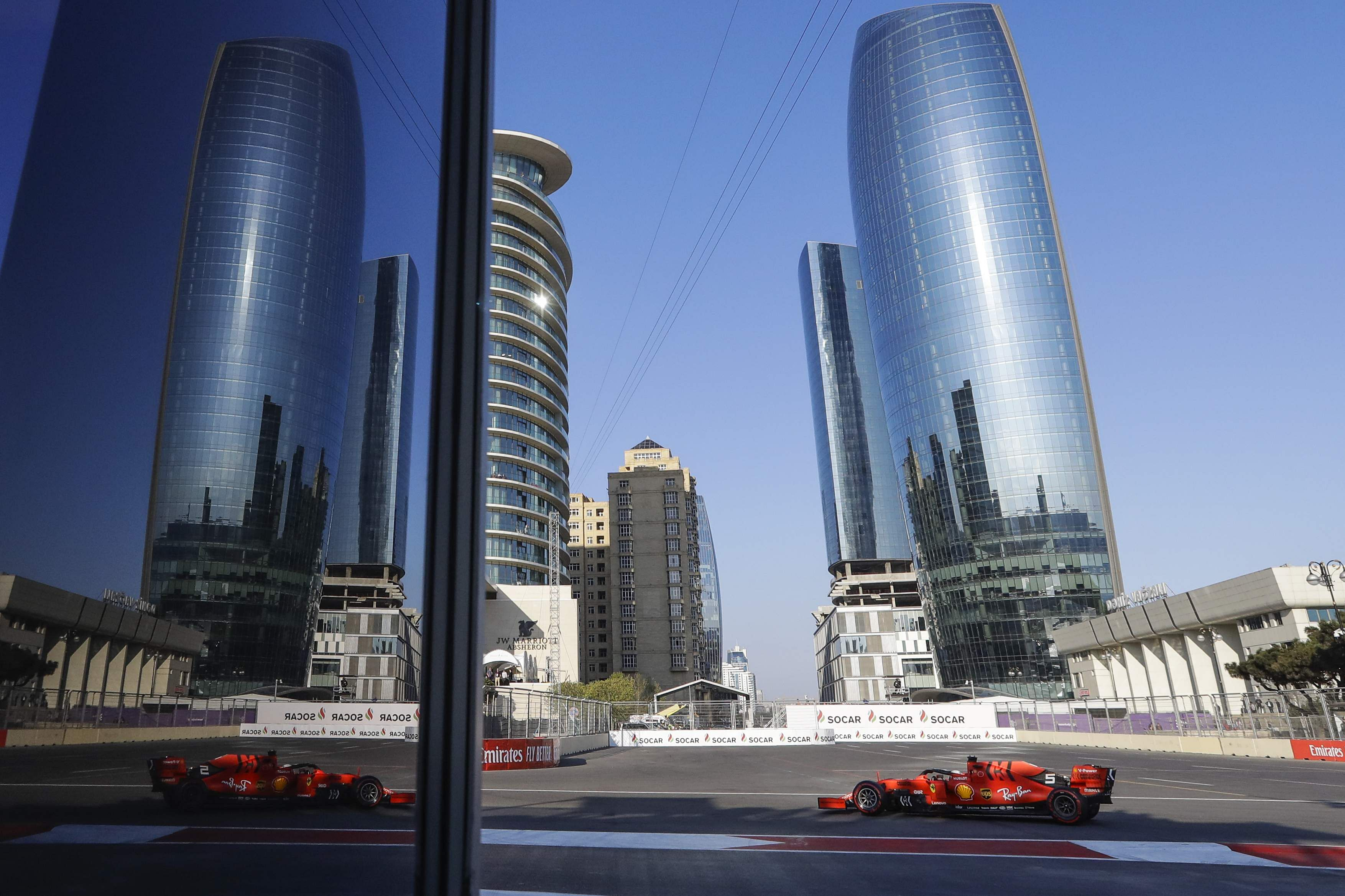 Off the race track: Azerbaijan Grand Prix 2019: Bottas cruises to win in Baku, Mercedes dominates again. All AP Photos (Sergie Grits/Zurab Kurtsikidze)