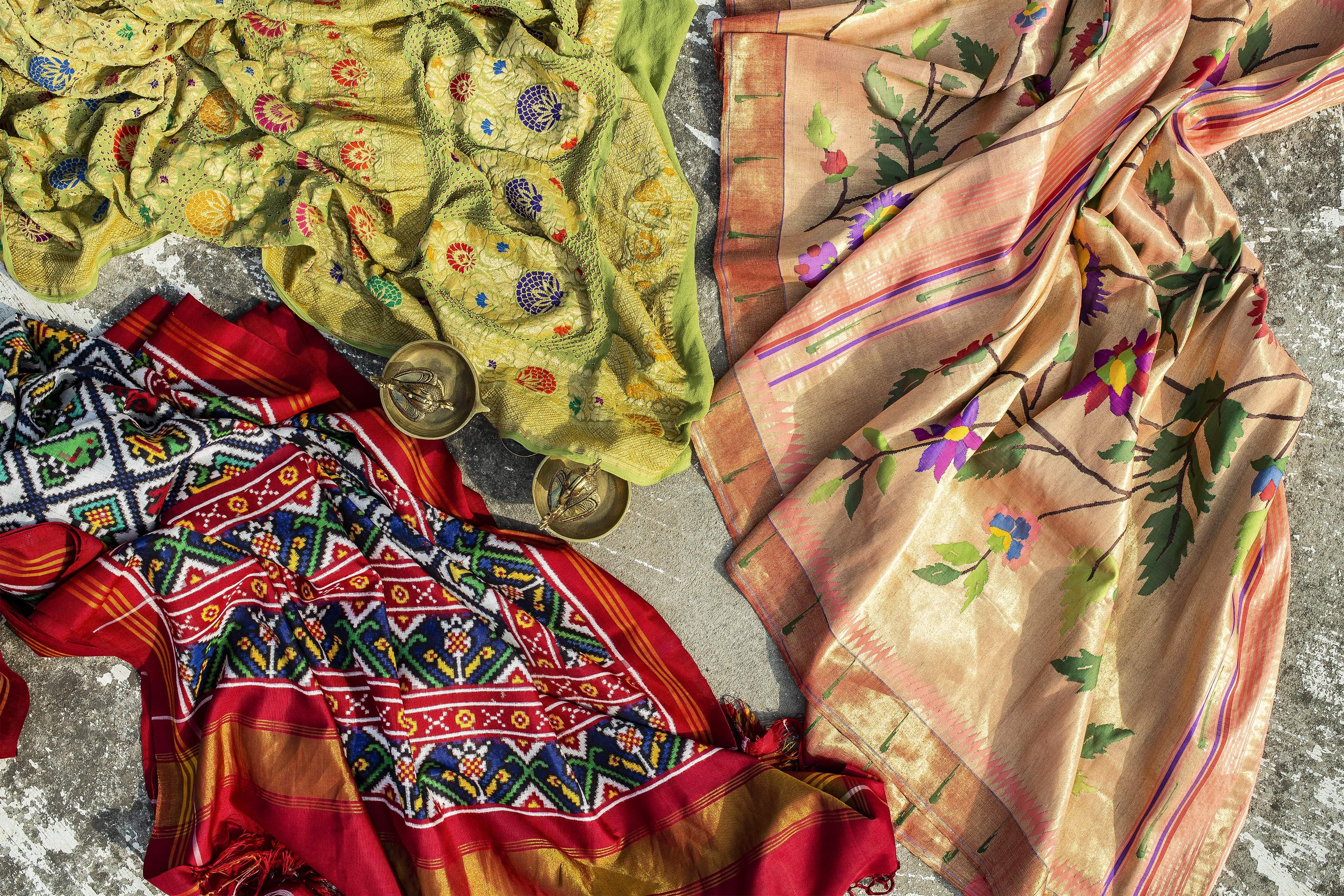 sari showcase at Kankatala