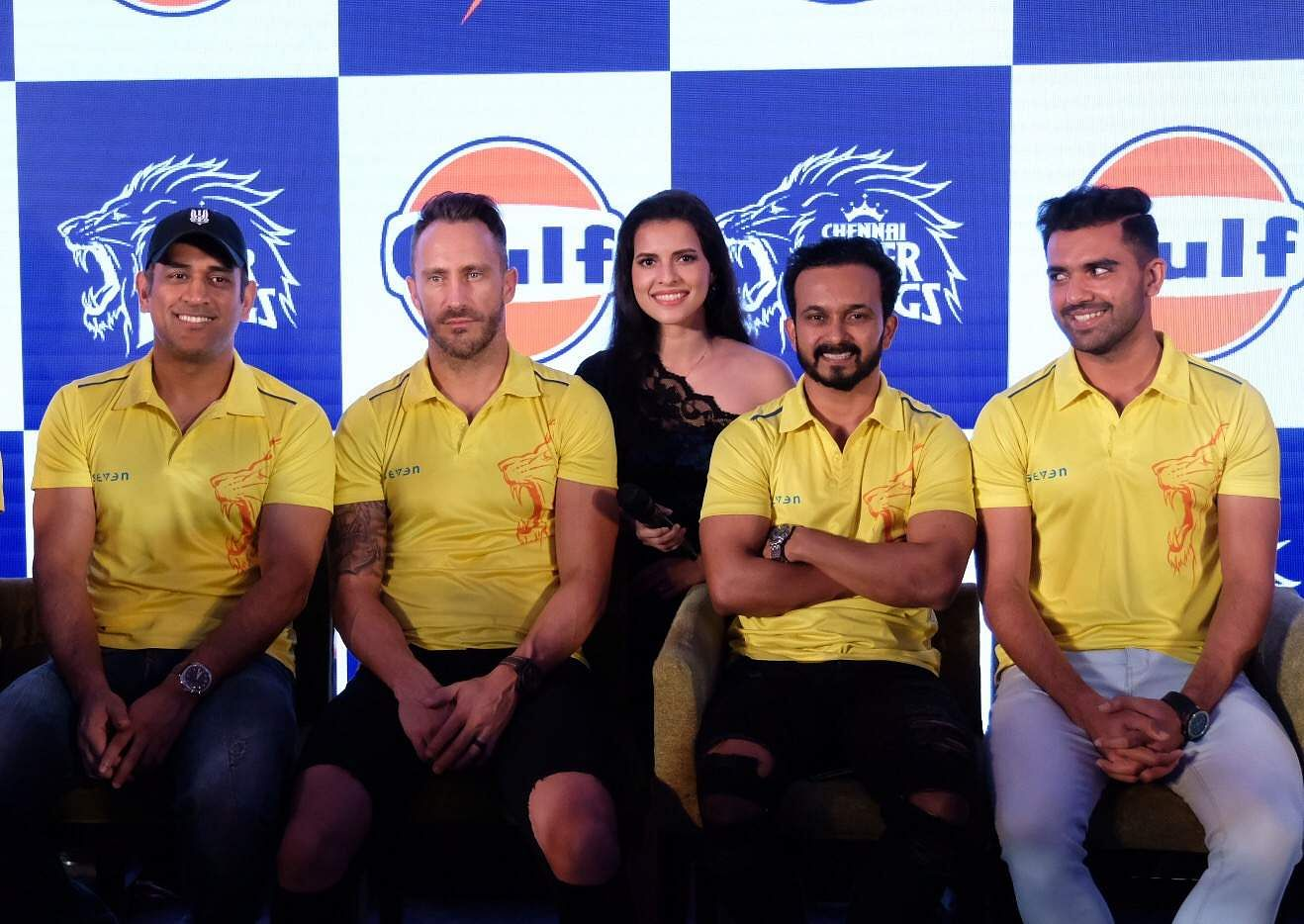Paloma with the CSK team