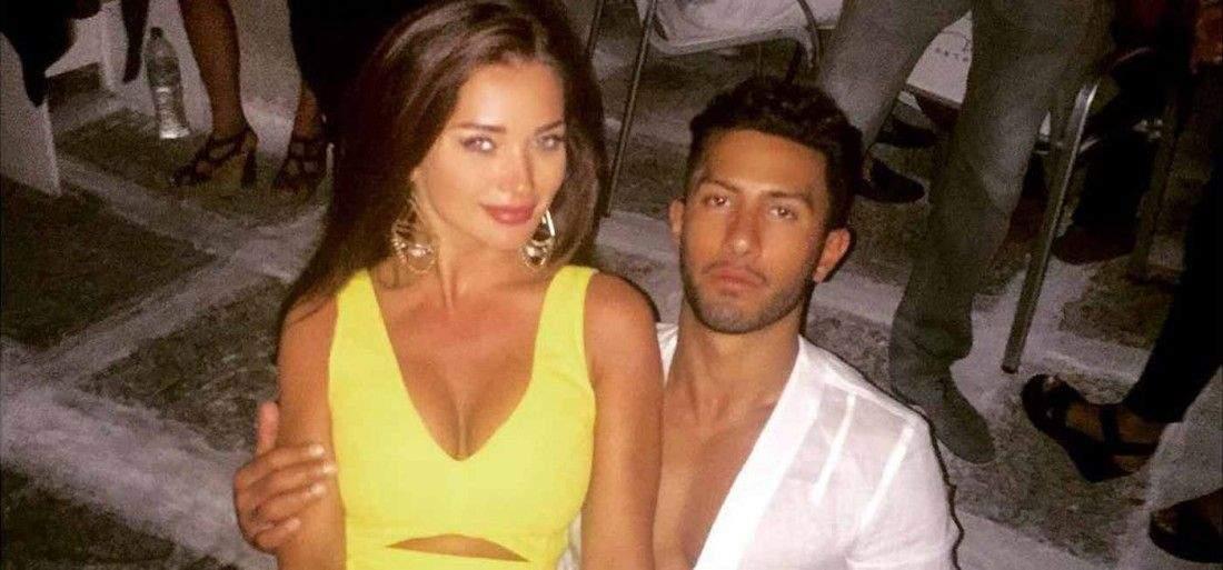 Amy Jackson and her boyfriend