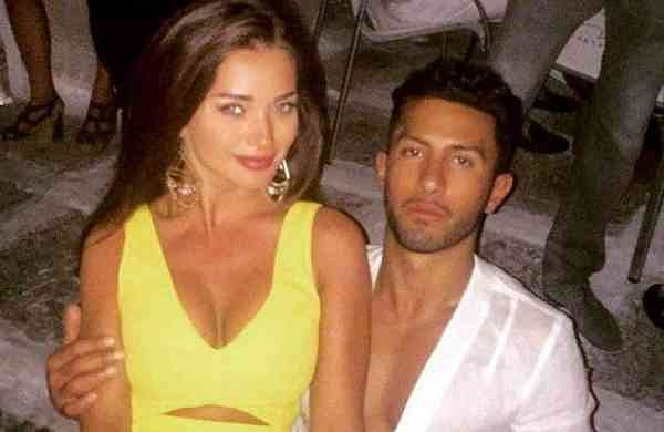 Amy Jackson and her boyfriend