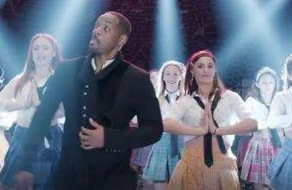 Will Smith dancing to Radha in Student Of The Year 2